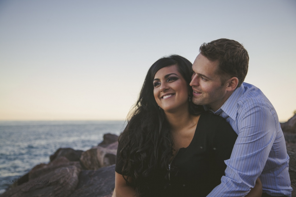 Toronto Waterfront Engagement, Toronto Engagement Photography, RC Harris Engagement Photography