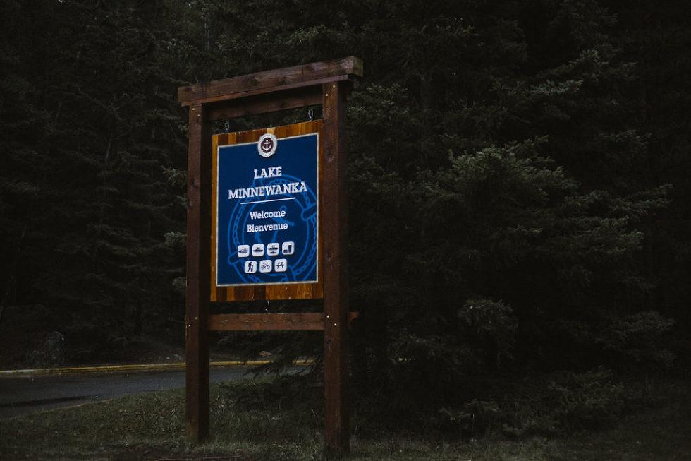 Banff engagement, Lake Minnewanka engagement, Mountain engagement