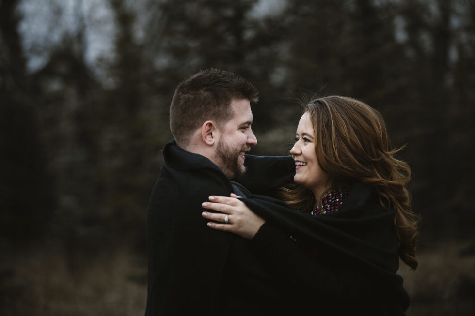 Fish Creek Park Engagement, Fish creek engagement,