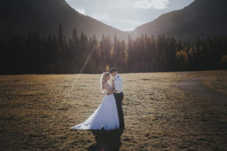 Canmore wedding, quarry lake park wedding